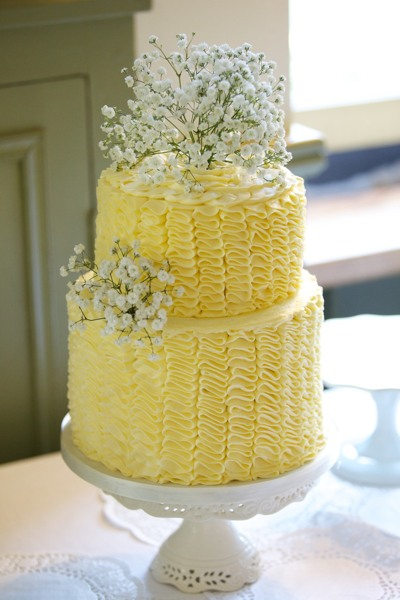 If you're not so keen on sugar paste, this buttercream ruffle cake is a good alternative.